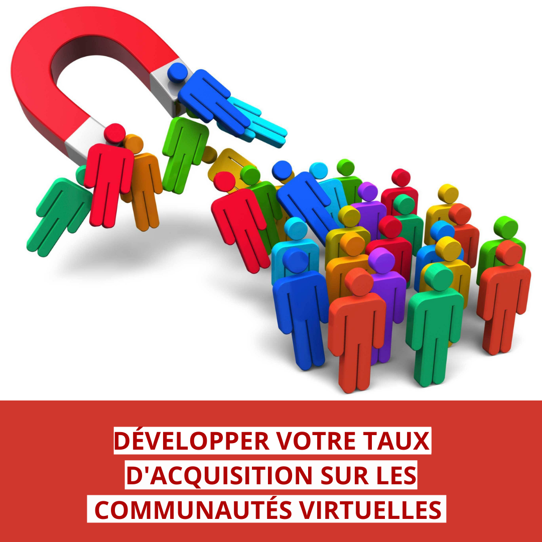 développer votre taux d'acquisition sur les communautés virtuelles